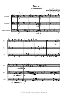 Danza: For trombone trio by David W Solomons