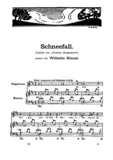 Schneefall: Schneefall by Wilhelm Kienzl
