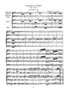 Concerto No.2 in A Major, HWV 307: Concerto No.2 in A Major by Georg Friedrich Händel