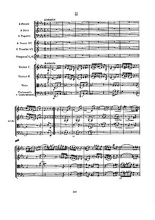 Symphony No.103 in E Flat Major 'Drum Roll', Hob.I/103: Movement II by Joseph Haydn