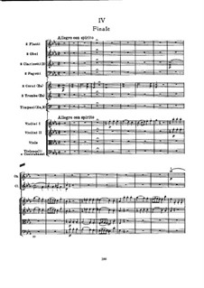 Symphony No.103 in E Flat Major 'Drum Roll', Hob.I/103: Movement IV by Joseph Haydn