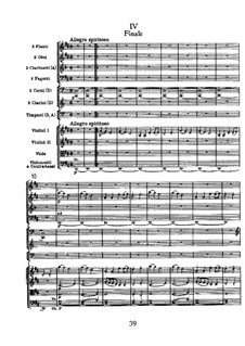 Symphony No.104 in D Major 'London', Hob.I/104: Movement IV by Joseph Haydn