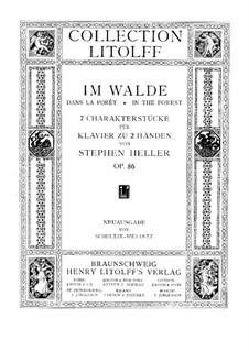 Dans les bois (In the Forest), Op.86: Complete set by Stephen Heller