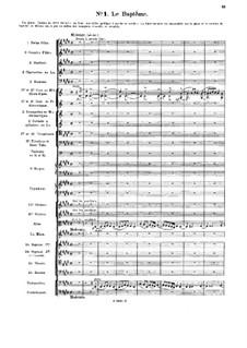 Le chant de la cloche, Op.18: No.1 Le Bartême by Vincent d' Indy