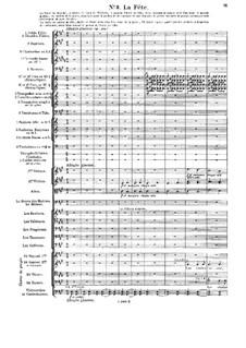 Le chant de la cloche, Op.18: No.3 La Fête by Vincent d' Indy