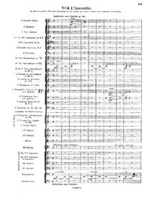 Le chant de la cloche, Op.18: No.5 L'Incendie by Vincent d' Indy