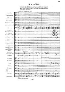 Le chant de la cloche, Op.18: No.6 La Mort by Vincent d' Indy