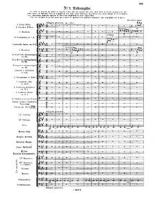 Le chant de la cloche, Op.18: No.7 Triomphe by Vincent d' Indy