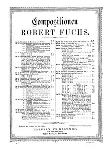 New Improvisations, Op.30: Book II by Robert Fuchs