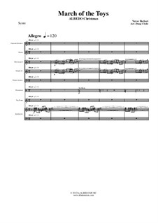 Babes in Toyland: March of the Toys, for large ensemble, AMSM72 by Victor Herbert