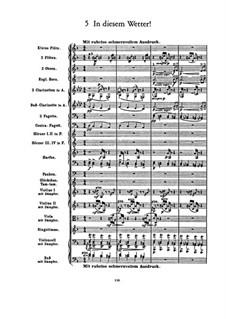 Kindertotenlieder (Songs on the Death of Children): No.5 In diesem Wetter, in diesem Braus (In this Weather) by Gustav Mahler