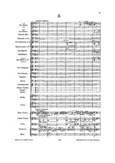 Symphony No.6 in A Minor 'Tragic': Movement II (second edition) by Gustav Mahler