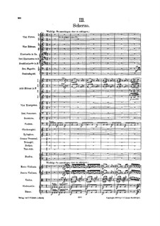 Symphony No.6 in A Minor 'Tragic': Movement III (second edition) by Gustav Mahler