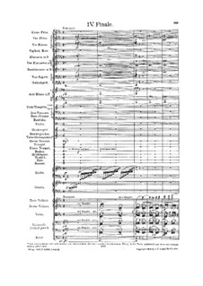 Symphony No.6 in A Minor 'Tragic': Movement IV (second edition) by Gustav Mahler