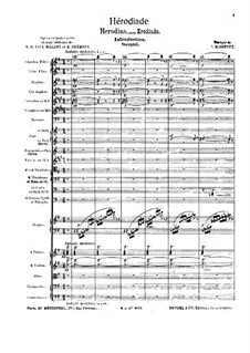Hérodiade: Introduction by Jules Massenet