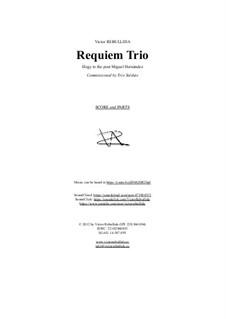 Requiem Trio: Requiem Trio by Victor Rebullida