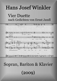 Four duets with piano: Four duets with piano by Hans Josef Winkler