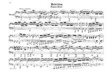 Die Hebriden oder Die Fingalshöhle (Hebrides Overture), Op.26: For piano four hands by Felix Mendelssohn-Bartholdy
