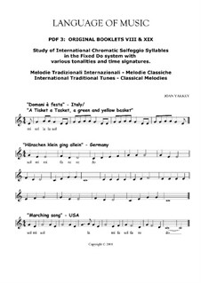Language of Music. Contemporary solfegge method: Pdf 03 by Joan Yakkey