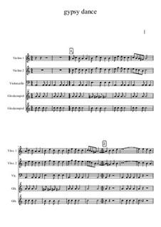 Gypsy music: Gypsy music by Gerald Fitzgibbon