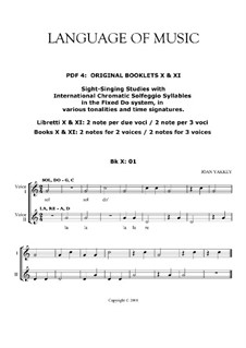 Language of Music. Contemporary solfegge method: Pdf 04 by Joan Yakkey
