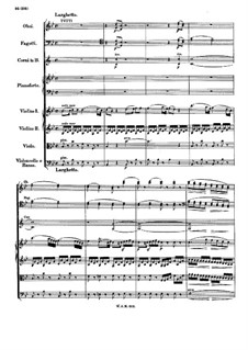 Concerto for Piano and Orchestra No.11 in F Major, K.413: Movements II-III by Wolfgang Amadeus Mozart