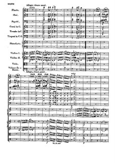 Concerto for Piano and Orchestra No.21 in C Major, K.467: Movement III by Wolfgang Amadeus Mozart