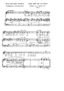 Einst wollt ich einen Kranz, S.332: Klavierauszug mit Singstimmen by Franz Liszt