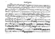 Fantasia for Mechanical Organ in F Minor, K.594: Version for piano four hands by Wolfgang Amadeus Mozart
