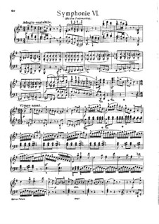 Symphony No.94 in G Major 'The Surprise', Hob.I/94: Version for piano by Joseph Haydn