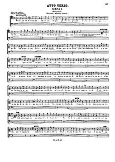 Complete Opera: Act III by Wolfgang Amadeus Mozart