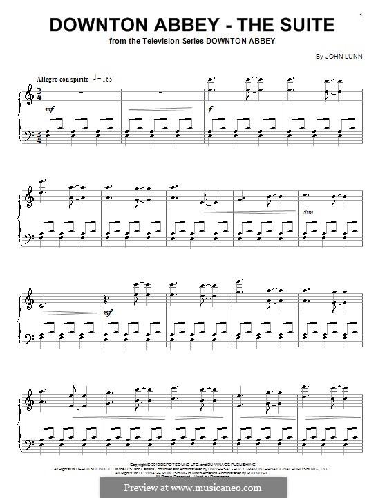 Downton Abbey (Theme): For piano by John Lunn