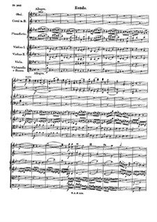 Concerto for Piano and Orchestra No.6 in B Flat Major, K.238: Movement III by Wolfgang Amadeus Mozart