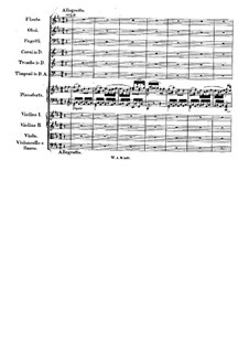 Concerto for Piano and Orchestra No.26 in D Major 'Coronation', K.537: Movement III by Wolfgang Amadeus Mozart