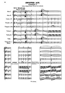 Zaide, K.344: Act II by Wolfgang Amadeus Mozart