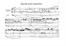 Apparatus Musico-Organisticus: For organ by Georg Muffat