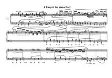 4 Tango's for piano: Tango No.3, MVWV 629 by Maurice Verheul