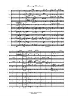Sweet 4 Chamber Orchestra: 4. Landscape before sunrise by David W Solomons