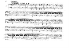 Song with Choir: For piano four hands by Felix Mendelssohn-Bartholdy