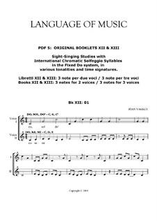 Language of Music. Contemporary solfegge method: Pdf 05 by Joan Yakkey