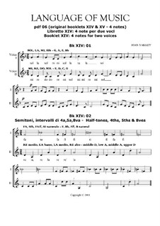 Language of Music. Contemporary solfegge method: Pdf 06 by Joan Yakkey