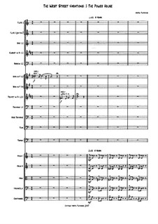The West Street Variations: 5. The Power House – full score by Martin Twycross