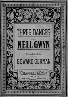 Nell Gwyn: All pieces, for piano by Edward German