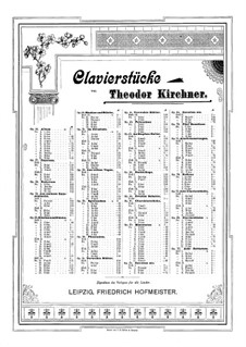 In the Twilight, Op.31: For piano by Theodor Kirchner