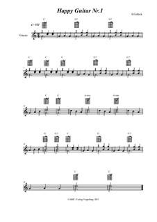 Happy Guitar: No.1 by S. Gelück