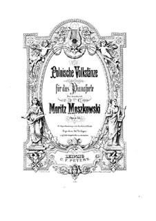 Four Polish Folk Dances, Op.55: For piano by Moritz Moszkowski