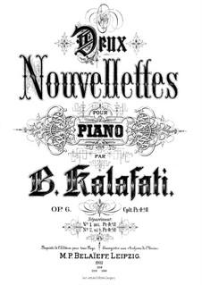 Deux Nouvellettes, Op.6 No.1: Deux Nouvellettes by Vasily Kalafati