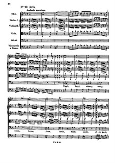Bastien and Bastienne, K.50: No.10-16 by Wolfgang Amadeus Mozart