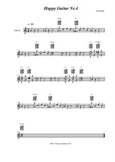 Happy Guitar: No.4 by S. Gelück