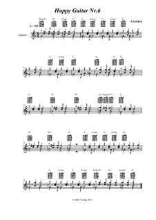 Happy Guitar: No.6 by S. Gelück